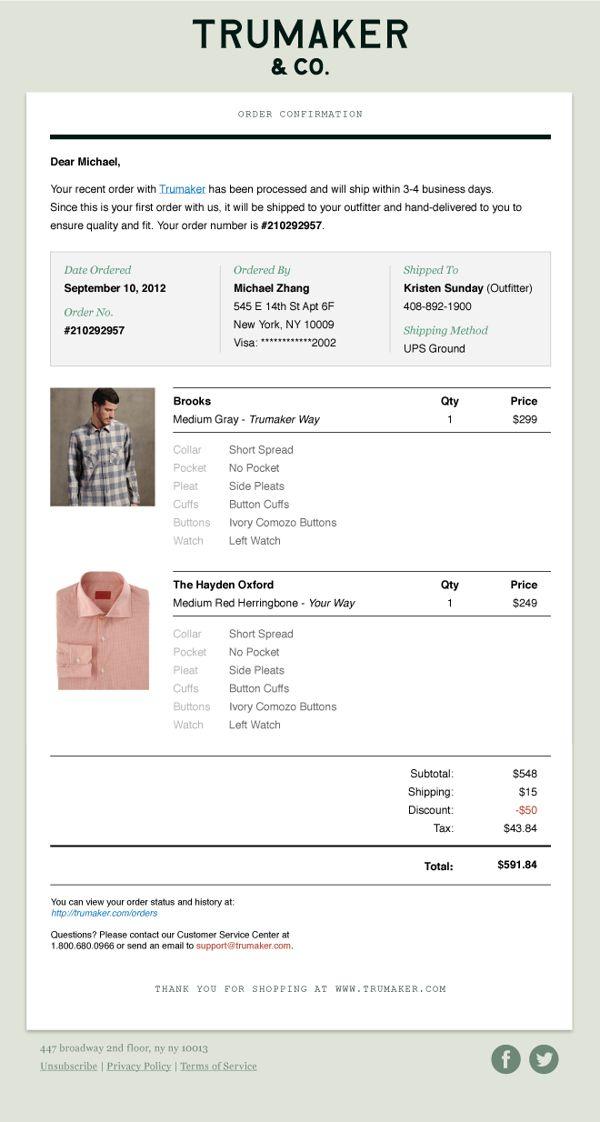 Custom Men's Shirts E-commerce Website by Ching Hsieh, via Behance