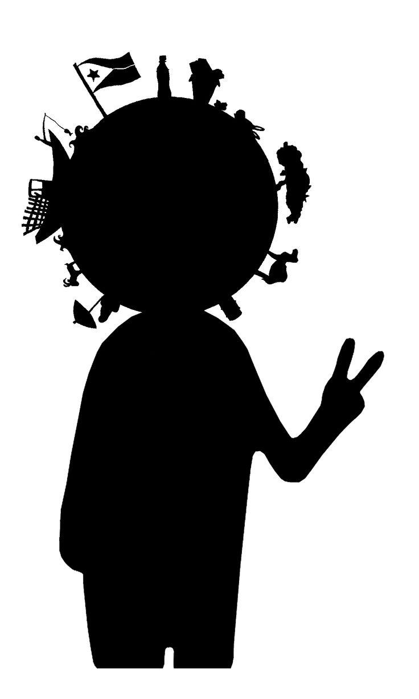 """Logo """"Mr DD"""" pour association pour le Développement Durable. Semaine du Dév.Dur. 2014."""