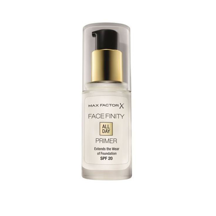 Max Factor Face Finity All Day Primer. A life saver if you (like me) have oily skin. It keeps your face matte for so much longer.