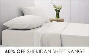 Sheridan Factory Outlet | discount bedding, cheap bed linen, sheets, quilts, towels | Australia and New Zealand's best quality discounted bed, bath and Accessories outlet.