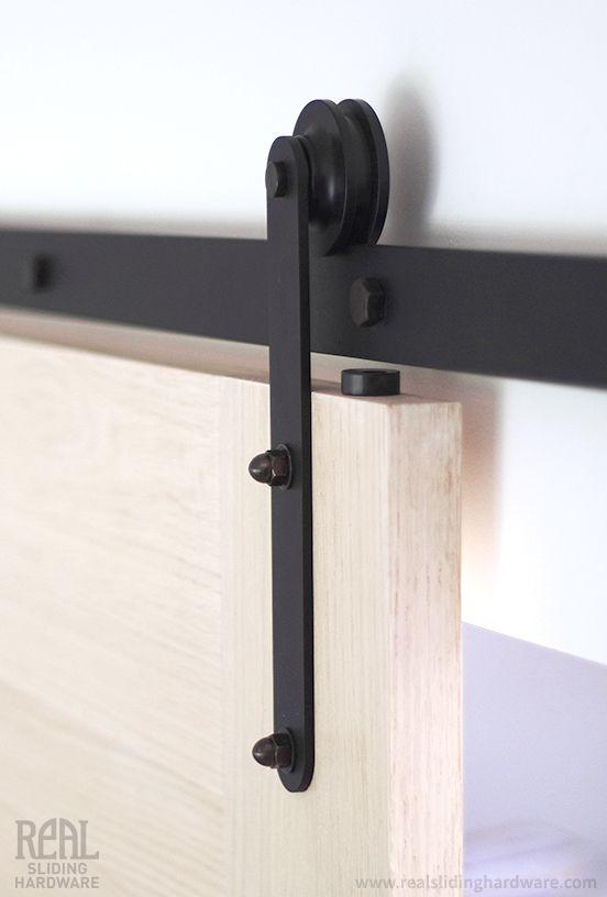 Prop Flat Track Barn Door Hardware | Real Sliding Hardware