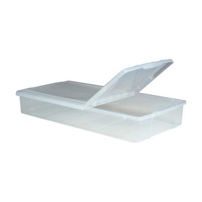 IRIS USA, Inc. Storage Series Underbed Box in Clear - 5 Piece Set