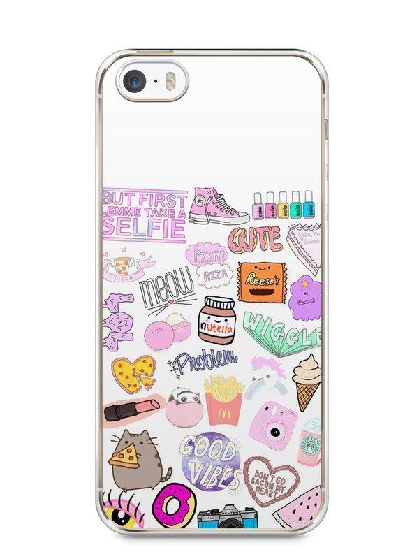 Capa Iphone 5/S Coisas de Menina - SmartCases - Acessórios para celulares e tablets :)