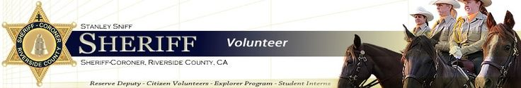 Riverside County Sheriff's Department Explorer Program #kids #volunteer #riverside #sheriff #program
