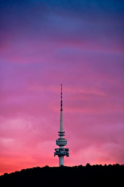 Telstra Tower - Canberra - Australia. I think i remember seeing this! 2006/2007.