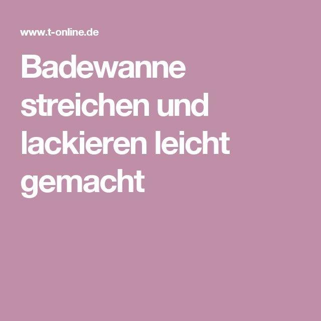 Badewanne Neu Lackieren | My blog