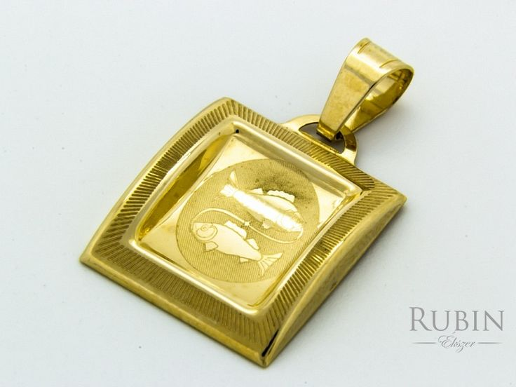 Halak horoszkóp arany medál