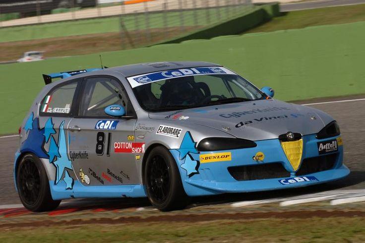 Alfa Romeo 147 cup Campionato Italiano Turismo Endurance ( CITE ) 2008