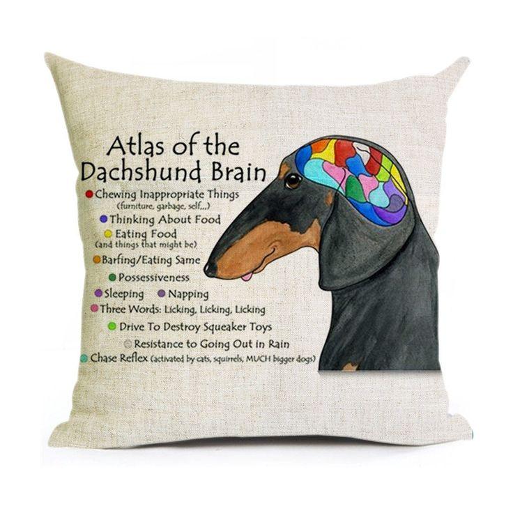 11 best Dachshund Pillow Case images on Pinterest | Kissenbezüge ...