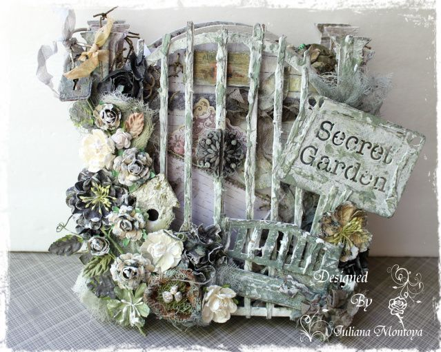 The Secret Garden Mini Album - Prima Nature Garden Collection