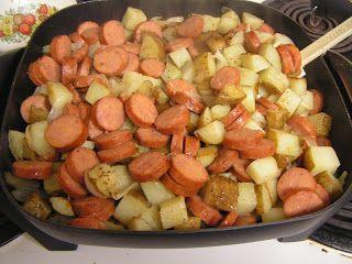how to cook fresh polish sausage on the stove