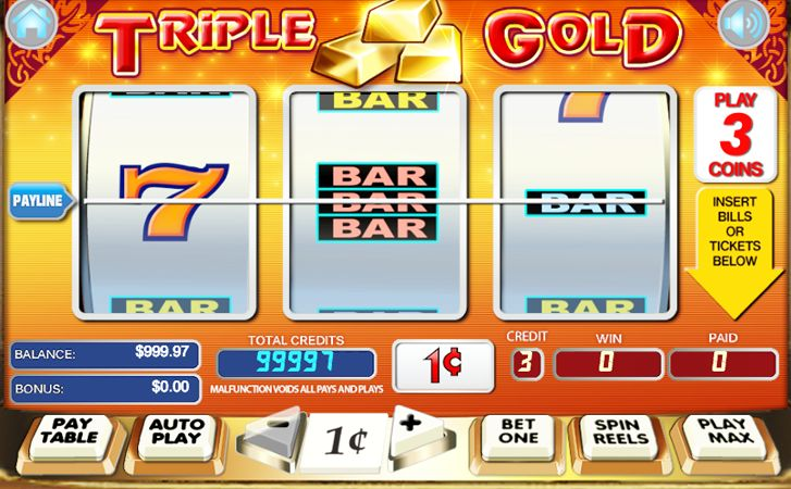 Discover Secret Winning Gambling Techniques How You Can Win Cash & Bitcoin Playing Triple Gold Slots Online. 3X Gold Vegas Casino Slot Games Reviews.