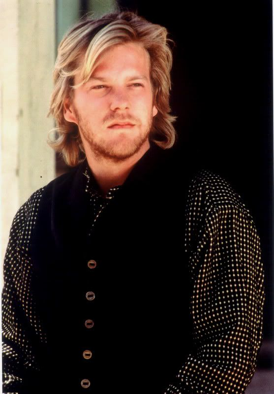Keifer Sutherland in Young Guns... Something about deep voices ;)