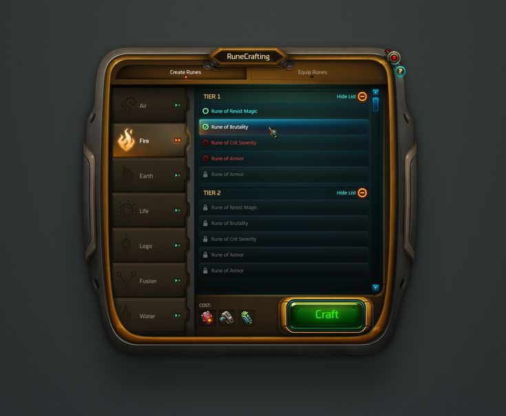 Dribbble - CONCEPT_Rune_Crafting.jpg by Miguel Angel Durán