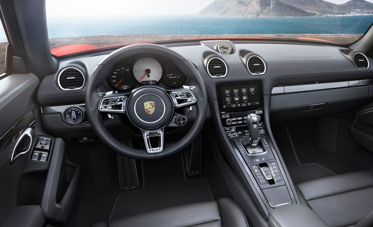 2017 Porsche 718 Boxster Interior