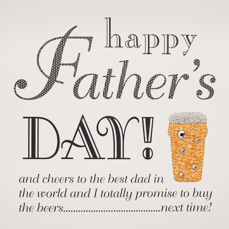 IS24 Happy Father's Day Beer