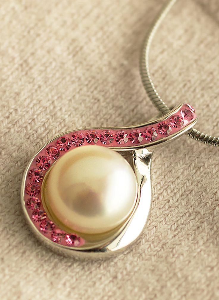 ethnic breast awareness jewelry