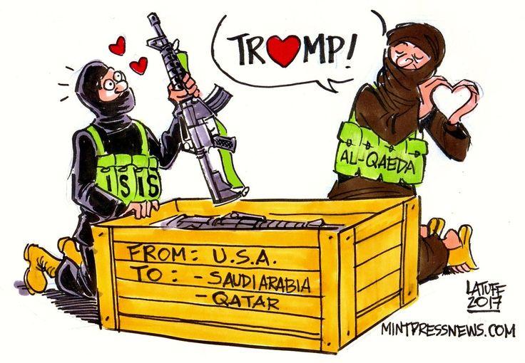 Salafism Vs. Wahhabism: #Qatar and Saudi Arabia's Proxy War Rages in #Syria Thanks to US Militarism! #Political #Caroon #Trump #USA #EU #Russia #Syria http://www.mintpressnews.com/salafism-vs-wahhabism-qatar-saudi-arabias-proxy-war-rages-syria/229314/ …