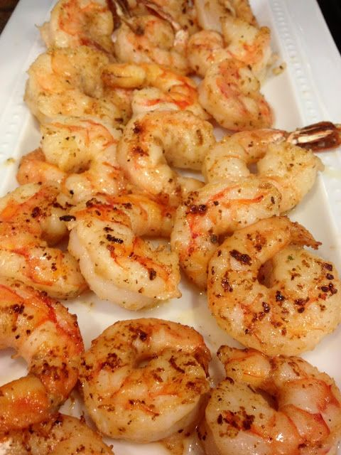 Easy and Healthy Sauteed shrimp recipe from EightByFive.com