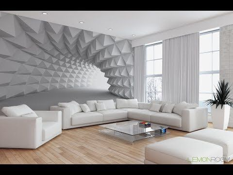 . 3D Wallpaper design  Latest Drawing Room Design  12015579 House
