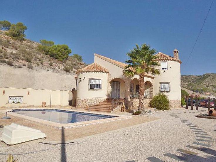Makellose Villa  Details zum #Immobilienangebot unter https://www.immobilienanzeigen24.com/spanien/regin-de-murcia/30620-fortuna/Villa-kaufen/27074:254330092:0:mr2.html  #Immobilien #Immobilienportal #Fortuna #Haus #Villa #Spanien