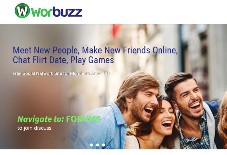 meet new people online Worbuzz is a free dating website where you can meet new people online, chat flirt date, meet new friends online, meet single men and women, date singles. http://worbuzz.com