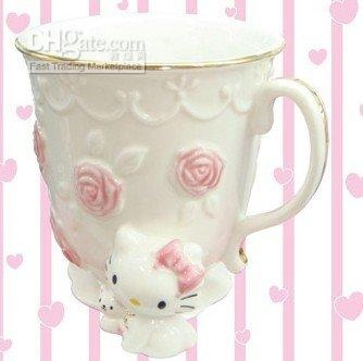 hello kitty teacup.  lord, this is going to kill me for sure
