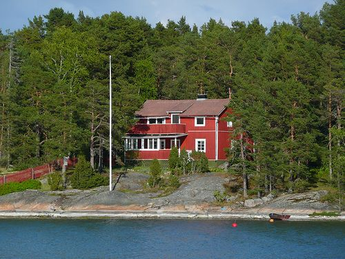 Villa in the Finnish Baltic Sea archipelago
