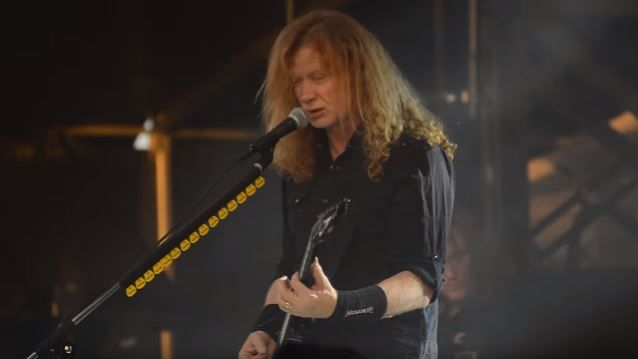 MEGADETH's DAVE MUSTAINE: Guitar Playing On 'Dystopia' 'Went Up Considerably' From 'Super Collider'