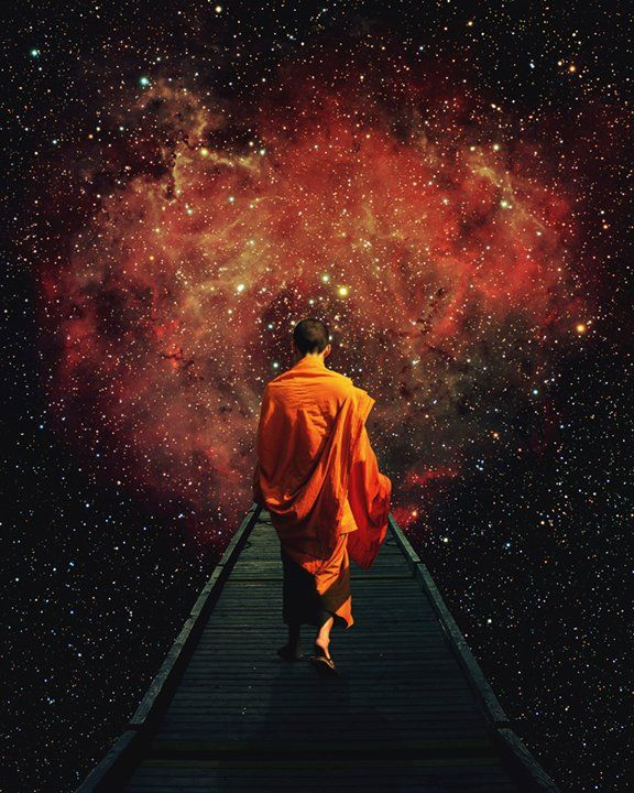 """""""When you are ready, you'll completely face the fear of your own nonexistence…"""