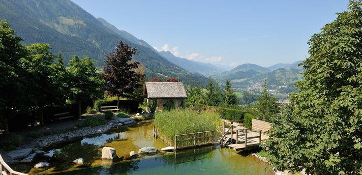 Der Oberforsthof Garten - MEHR PLATZ FÜR DICH im Urlaub im Alpendorf. Sankt JOhann im Pongau. Salzburger Land Österreich