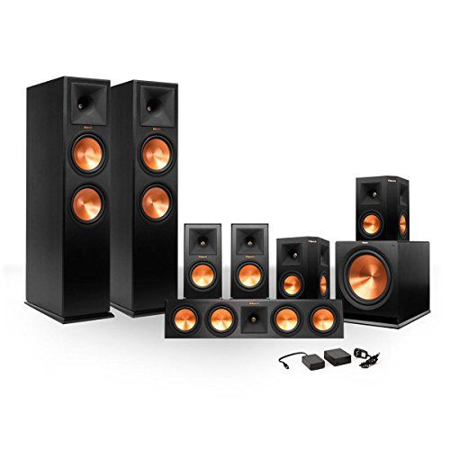 Special Offers - Klipsch 7.1 RP-280 Reference Premiere Surround Sound Speaker Package with R-115SW Subwoofer and a FREE Wireless Kit (Black) - In stock & Free Shipping. You can save more money! Check It (July 11 2016 at 10:16AM) >> http://caraudiosysusa.net/klipsch-7-1-rp-280-reference-premiere-surround-sound-speaker-package-with-r-115sw-subwoofer-and-a-free-wireless-kit-black/
