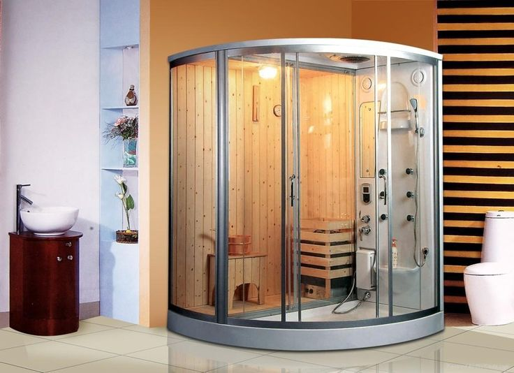 Steam sauna kits build home now all the steam relaxing for Build steam shower