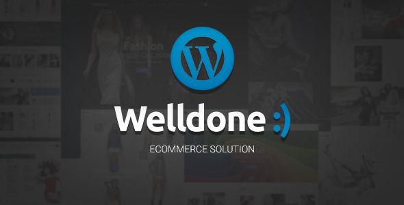 Welldone - WordPress theme