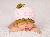 Plein d'accessoires pour les photos de nouveaux-nés