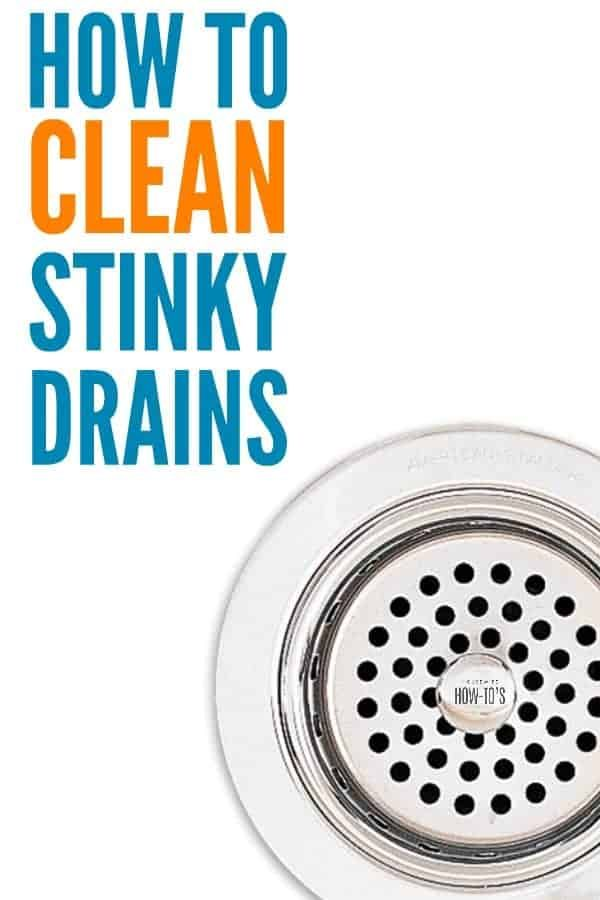 This Is How To Clean Stinky Drains In 2020 Kitchen Sink Smell Smelly Kitchen Drain Smelly Shower Drain