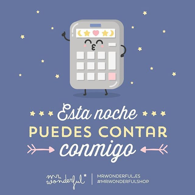 WEBSTA @ mrwonderful_ - ¿Qué plan nos espera? #mrwonderfulshop #felizviernesYou can count on me tonight. What are we up to?