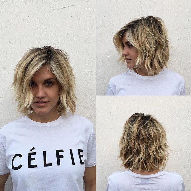 how to cut a short shaggy haircut