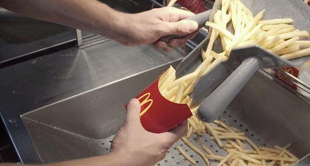 Макдональдс, наконец, показал, как это делает картофель-фри