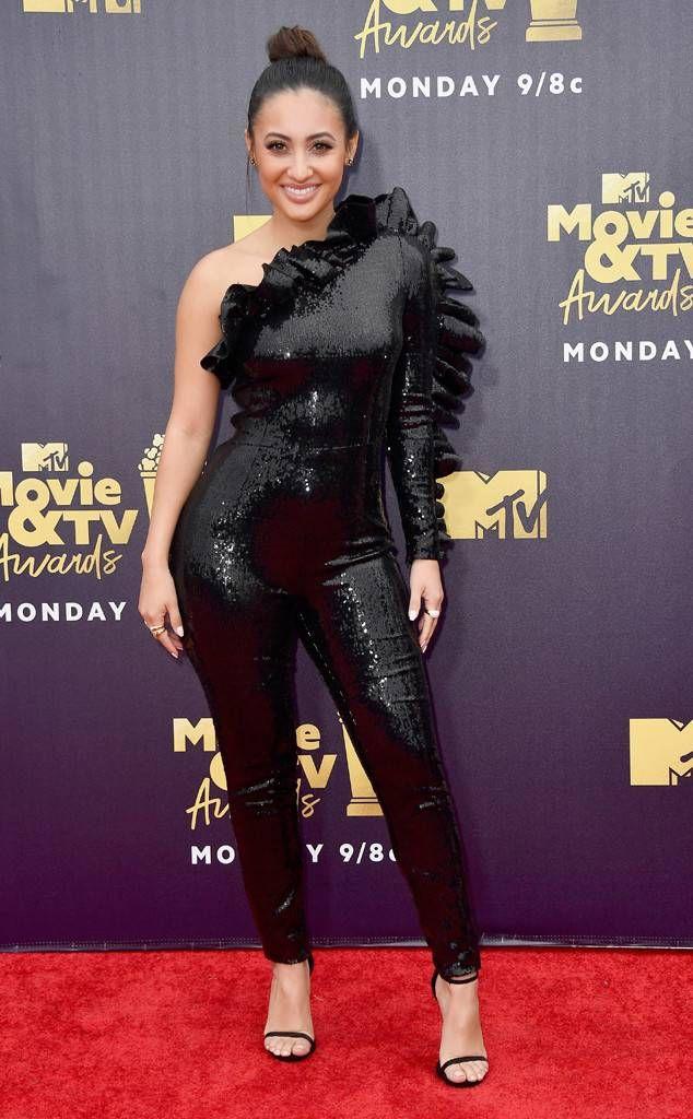 Francia Raisa From Mtv Movie Tv Awards 2018 Red Carpet Fashion