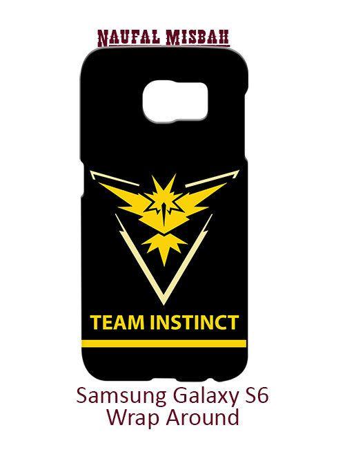 Team Instinct Pokemon GO Samsung Galaxy S6 Case Cover
