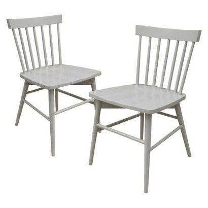 Threshold™ Windsor Dining Chair - Set of 2 ($114-120 for the pair)