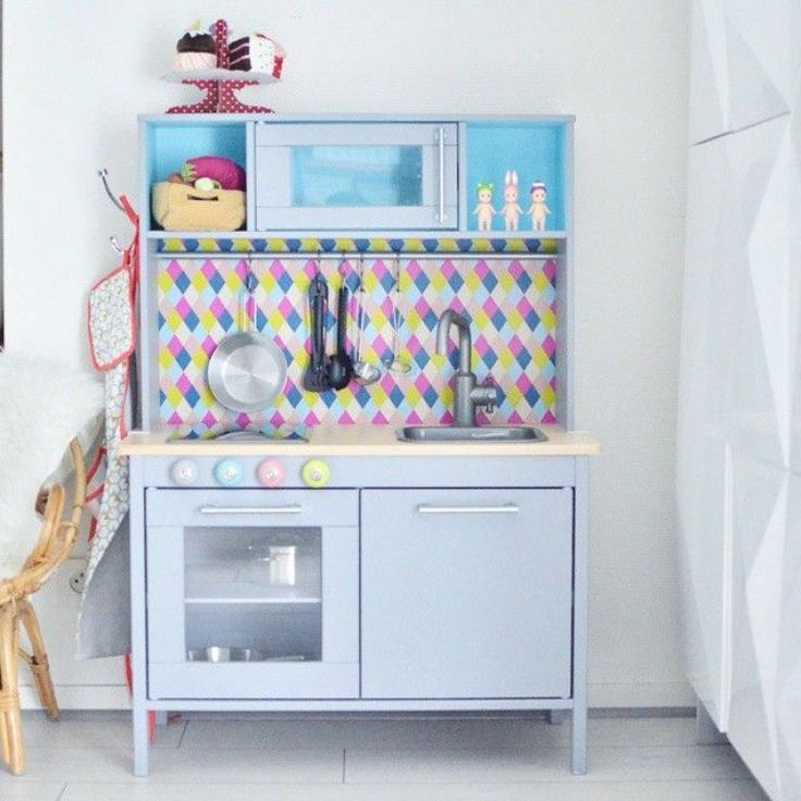 23 besten ikea duktig kinderk che hack pimpen makeover bilder auf pinterest ikea hacks. Black Bedroom Furniture Sets. Home Design Ideas