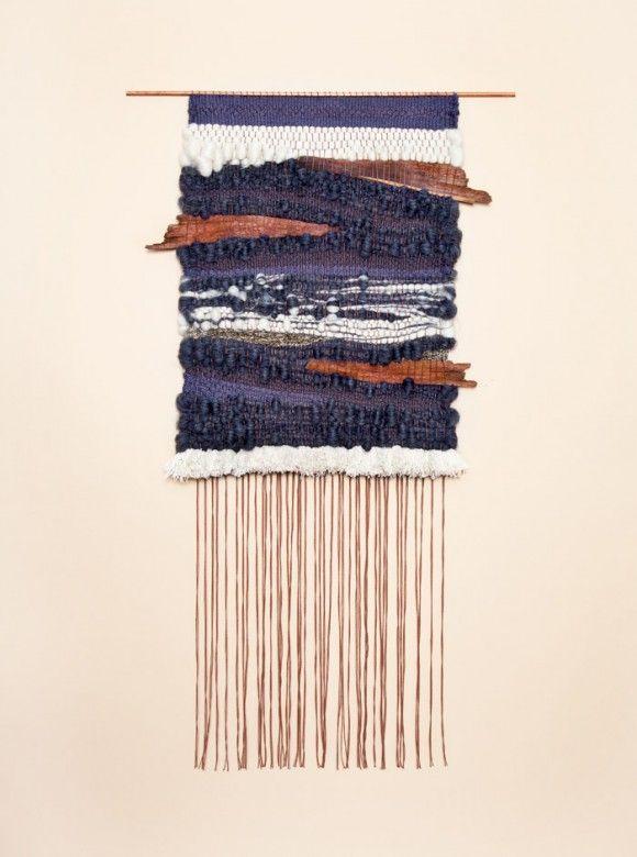 Brook & Lyn weaving // Threadbare Supply Co. Blog