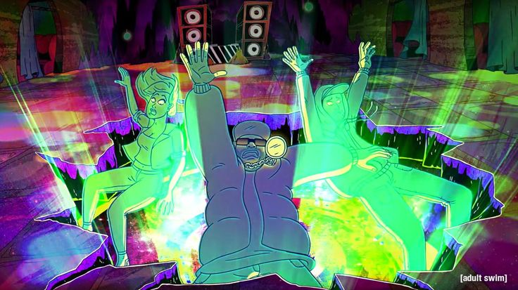 Watch Big Grams Get Animated in Psychedelic Adult Swim Video #headphones #music #headphones