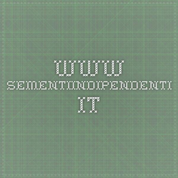 www.sementiindipendenti.it