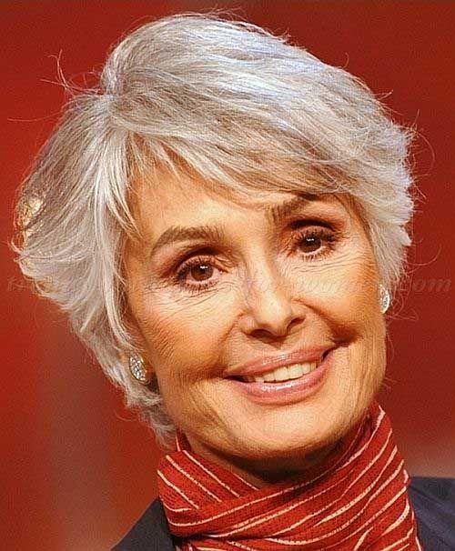 20 estilos de pelo corto para mujeres mayores de 50 // #corto #Estilos #mayores…