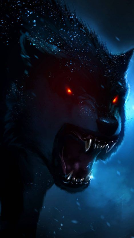 Angry Wolf Iphone Wallpaper Wolf Wallpaper Wolf Painting Werewolf Art Wolf wallpaper iphone hd