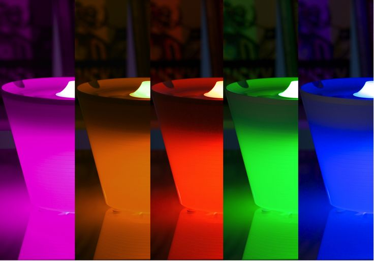 Coloured light & fade function (MULTIPOT+)