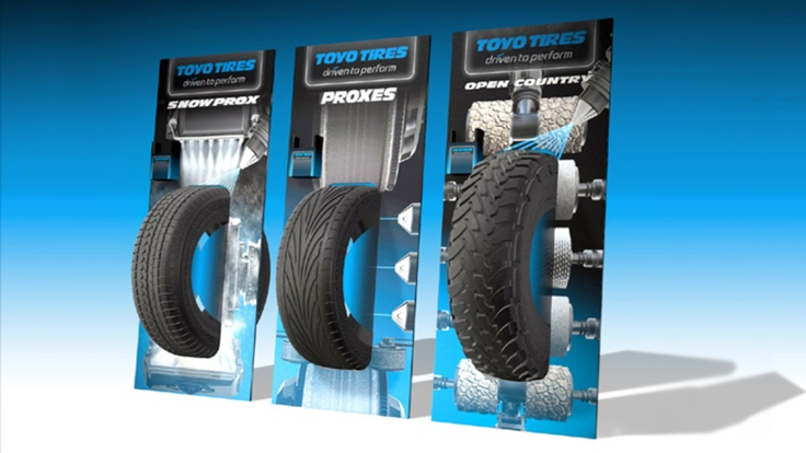Tyre Presenter